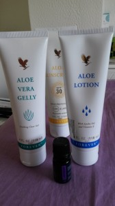 Aloe vera sun protection